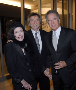 Audrey L. Wilder, Curtis Hanson, Warren Beatty and Annette Bening at the Billy Wilder Theater