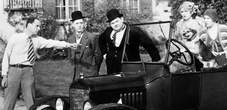 Laurel and Hardy Preservation Fund | UCLA Film & Television Archive