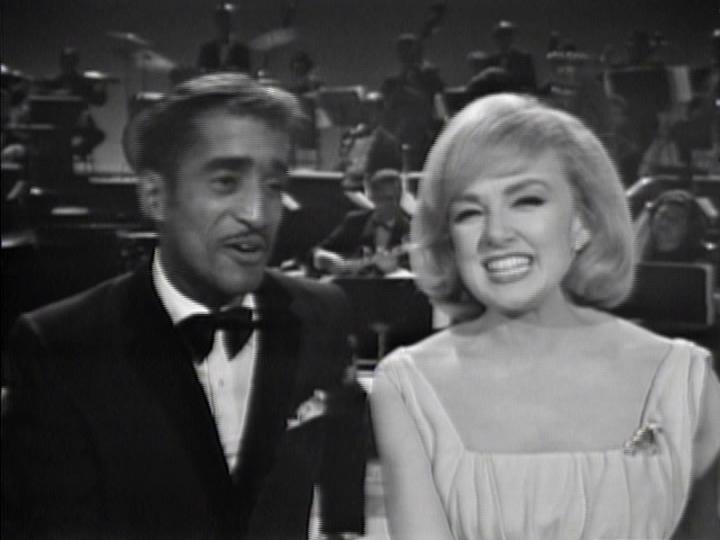 Sammy Davis Jr. and Edie Adams