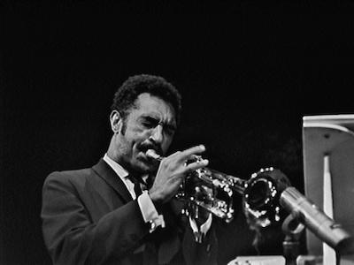 Trumpeter Gerald Wilson
