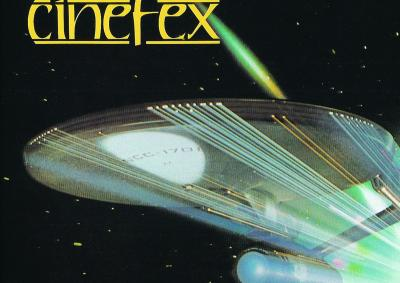 Cover of Cinefex Magazine