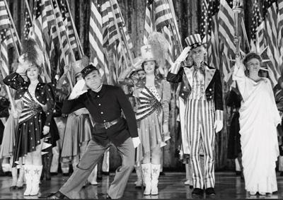 Image result for Yankee Doodle Dandy 1942 flags