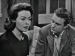 Actors Jeanne Crain and Cliff Robertson in U.S. Steel Hour